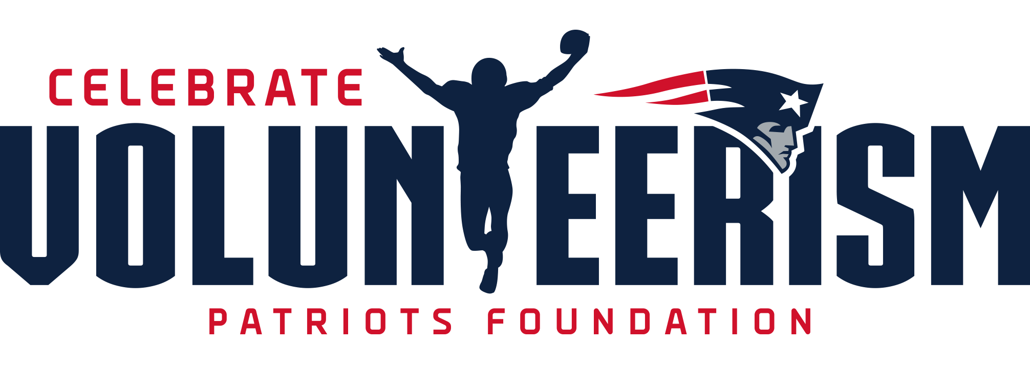 Patriots Charitable Foundation Celebrating Volunteerism Logo