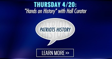 Thursday 04/20: Hands on History with Hall Curator Lily-Kathryn Ames